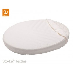 LENZUOLO SOTTO STOKKE SLEEPI MINI FITTED SHEET BIANCO