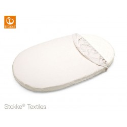 LENZUOLO SOTTO STOKKE SLEEPI FITTED SHEET BEIGE
