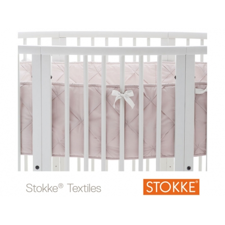 PARACOLPI PER LETTO STOKKE SLEEPI BUMPER CLASSIC ROSE